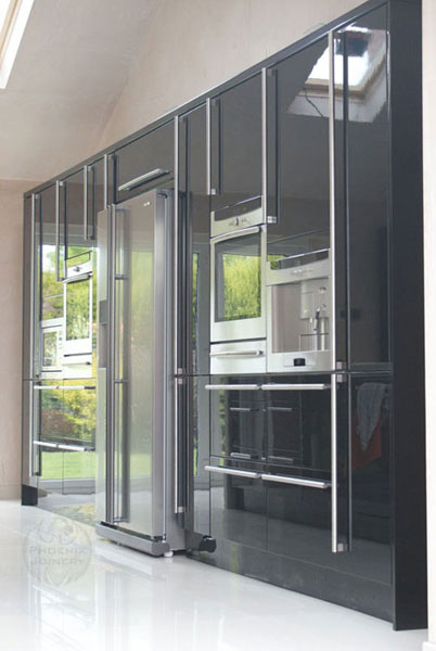 Phoenix joinery kitchen fitter in warrington cheshire for Tall fitted kitchen unit