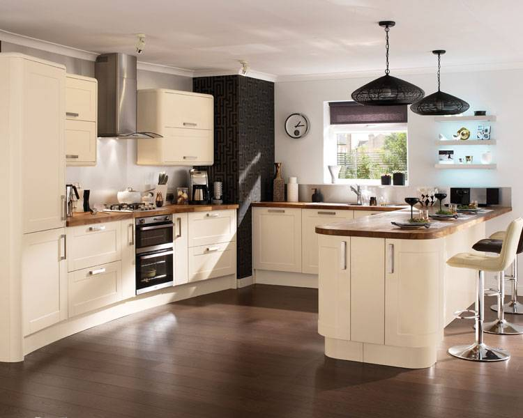 Phoenix Joinery  Kitchens  Burford Cream