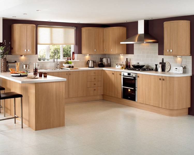 Phoenix Joinery Kitchens Burford Light Oak