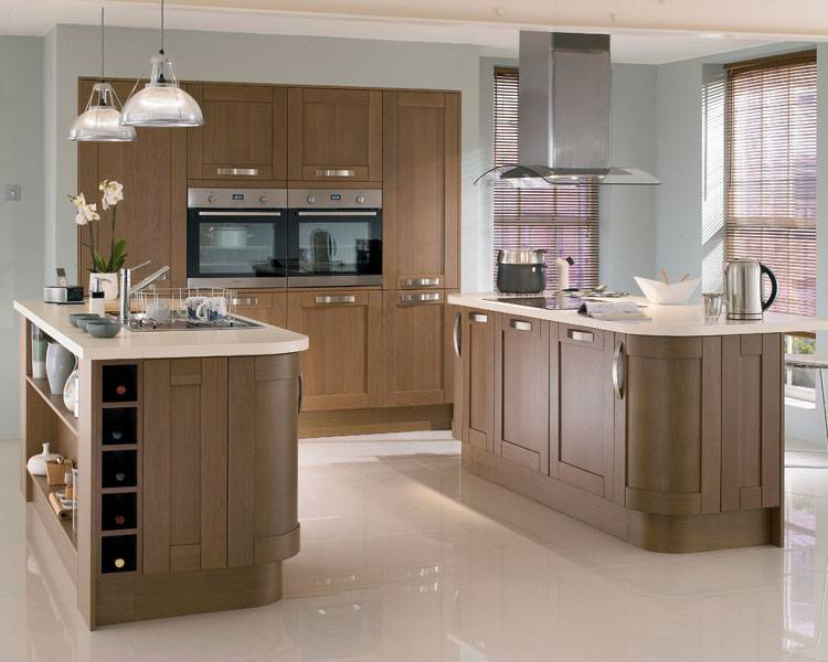 Phoenix Joinery Kitchens Tewkesbury Dark Oak