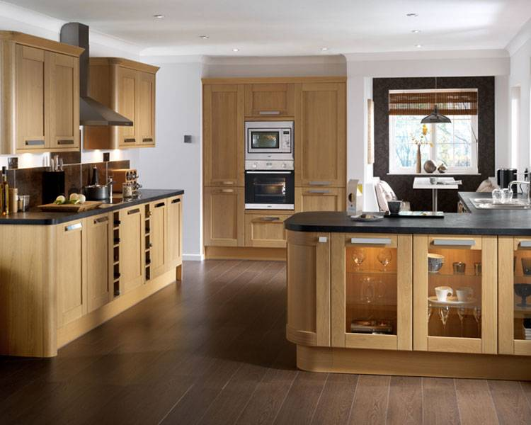 Phoenix Joinery  Kitchens  Tewkesbury Light Oak