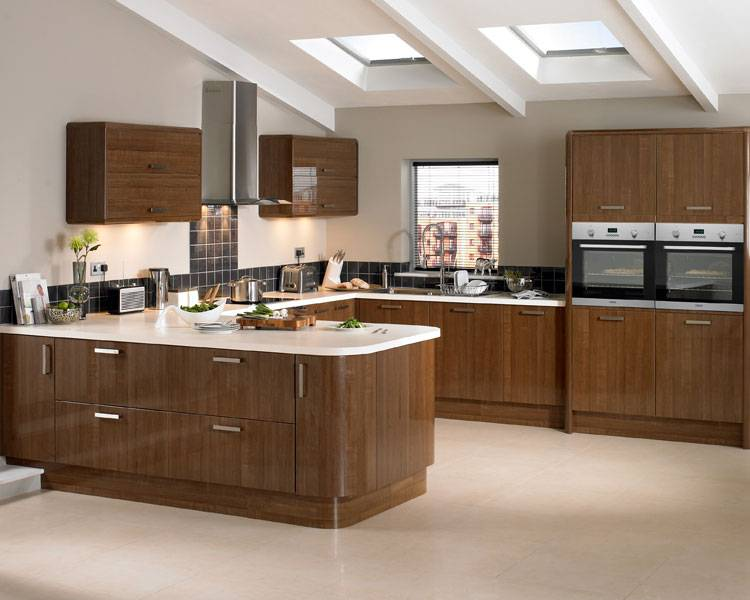 Phoenix Joinery Kitchens Glendevon Dark Oak